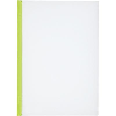 LIHIT G1720-6 リクエスト スライドバーファイル A4タテ 20枚収容 黄緑