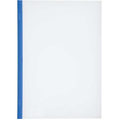 LIHIT G1720-8 リクエスト スライドバーファイル A4タテ 20枚収容 青