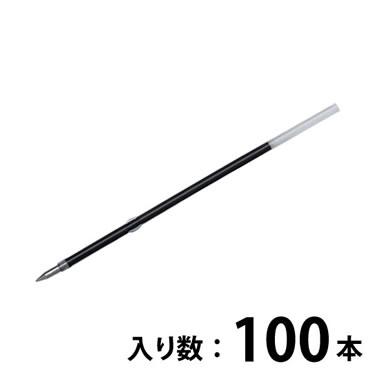 プラチナ BSP-60-F0.7 ボールペン替芯黒 100本 (BSL-500D用)