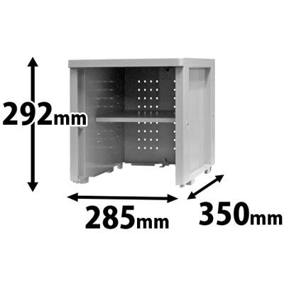 プラスチックロッカー オープン MSタイプ 連結専用
