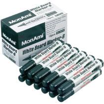 モナミ 10501 ホワイトボードマーカーB 丸芯 黒