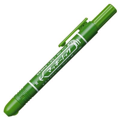ゼブラ P-YYSS6-G 油性マーカー マッキーノック 細字 緑