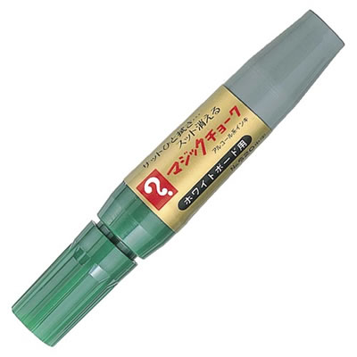 寺西化学 M620-T4 マジックチョーク 中字 緑