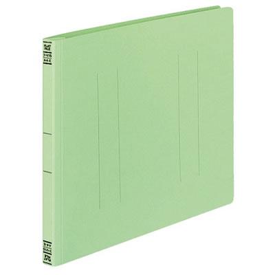 コクヨ フ-V15G フラットファイルV 樹脂製とじ具A4横 15mmとじ 緑 10冊セット