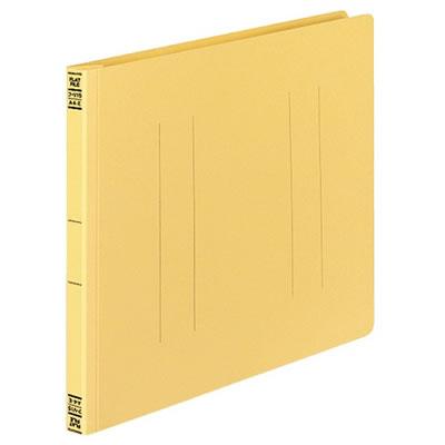 コクヨ フ-V15Y フラットファイルV 樹脂製とじ具A4横 15mmとじ 黄 10冊セット