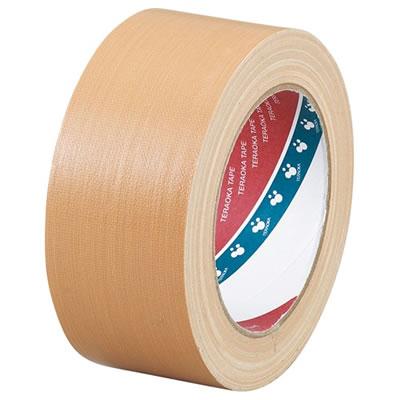 寺岡製作所 No.1590NP 包装用布テープ 幅50mm 1セット=90巻 ノンパッケージ
