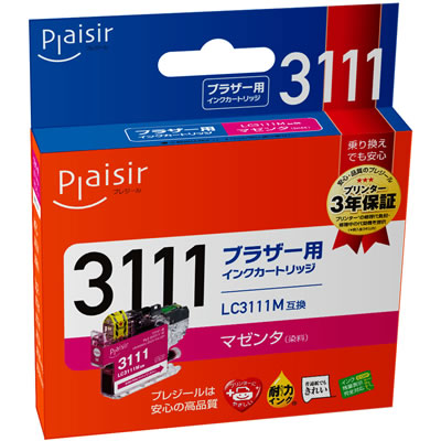 Plaisir PLE-BR3111M インク マゼンタ 汎用品