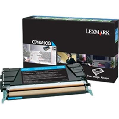 LEXMARK C746A1CG シアンリターントナーカートリッジ 7000枚