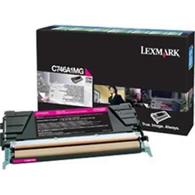 LEXMARK C746A1MG マゼンタリターントナーカートリッジ 7000枚