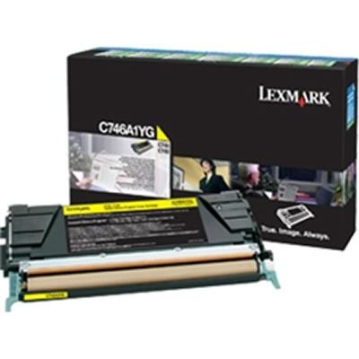 LEXMARK C746A1YG イエローリターントナーカートリッジ 7000枚