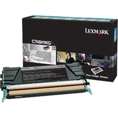 LEXMARK C746H1KG ブラック大容量リターントナーカートリッジ 12000枚
