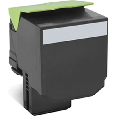 LEXMARK 80C8XK0 808K ブラックエクストラ大容量リターントナーカートリッジ 8000枚