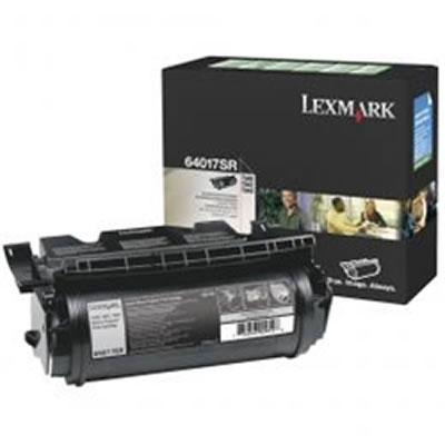 LEXMARK 64017SR リターンプログラムトナーカートリッジ・ブラック(6000枚)