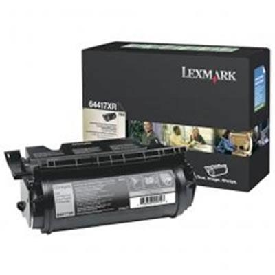 LEXMARK 64417XR リターンプログラムトナーカートリッジ・ブラック(Extra大容量/32000枚)