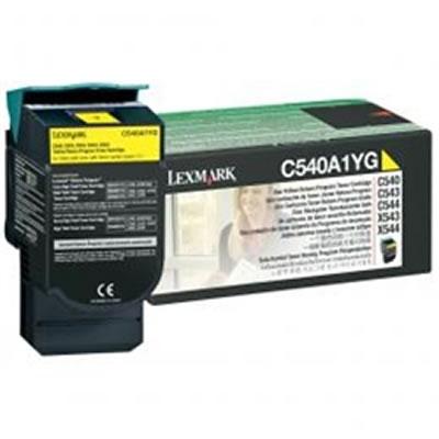 LEXMARK C540A1YG リターンプログラムトナーカートリッジ・イエロー(1000枚)