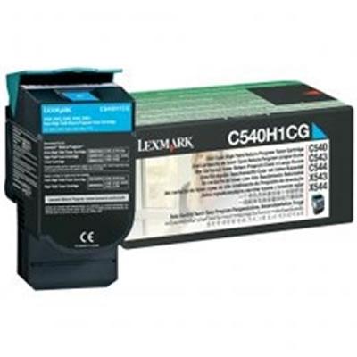 LEXMARK C540H1CG リターンプログラムトナーカートリッジ・シアン(大容量/2000枚)