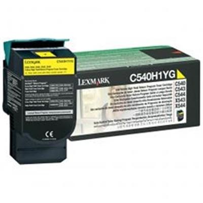 LEXMARK C540H1YG リターンプログラムトナーカートリッジ・イエロー(大容量/2000枚)