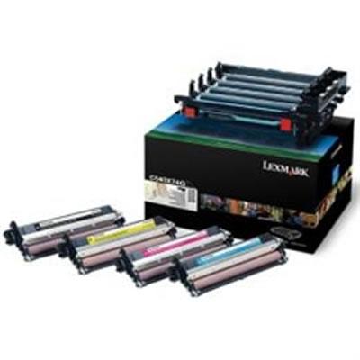 LEXMARK C540X74G C54X用ブラック&カラーイメージングキット(30000枚)