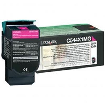 LEXMARK C544X1MG リターンプログラムトナーカートリッジ・マゼンタ(Extra大容量/4000枚)