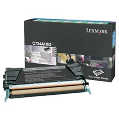 LEXMARK C734A1KG リターンプログラムトナーカートリッジ・ブラック(8000枚)
