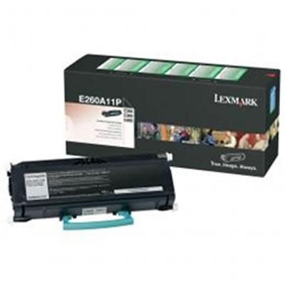 LEXMARK E260A11Pリターンプログラムトナーカートリッジ・ブラック(3500枚)