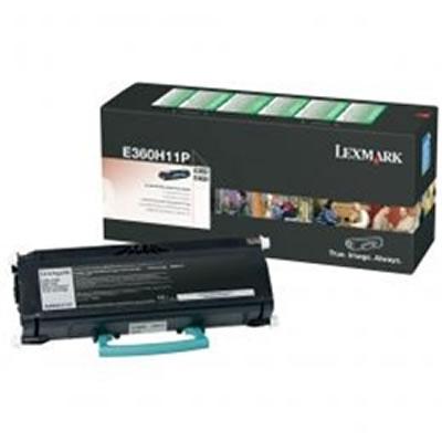 LEXMARK E360H11P リターンプログラムトナーカートリッジ・ブラック(大容量/9000枚)