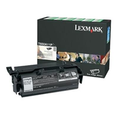 LEXMARK T650A11P リターンプログラムトナーカートリッジ・ブラック(7000枚)