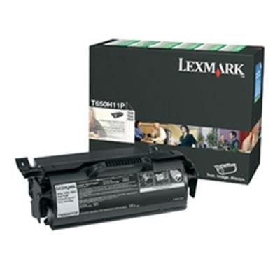 LEXMARK T650H11P リターンプログラムトナーカートリッジ・ブラック(大容量/25000枚)