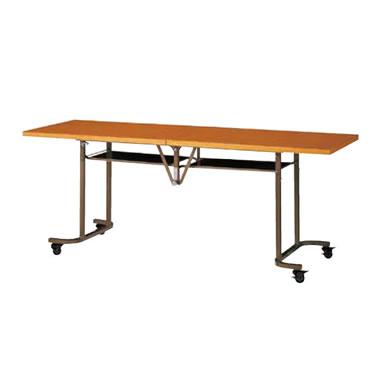 フライトテーブル 幅1800×奥行600mm チーク