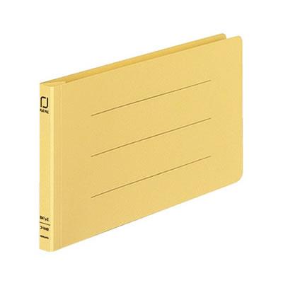 コクヨ フ-V49Y 統一伝票用フラットファイル樹脂製とじ具B4 1/3横 10冊セット 黄