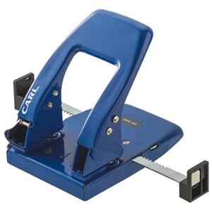 カール事務器 SD-W50-B 2穴パンチ 50枚穿孔 ブルー