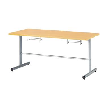 4人用食堂テーブル T字脚 幅1500mm メープル