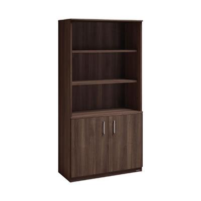 グレースライン オープン書棚  プライズウッドダーク