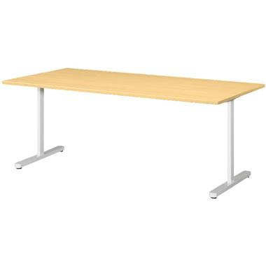 KAT型会議用テーブル 両角タイプ 1800×900mm ペールアルダー