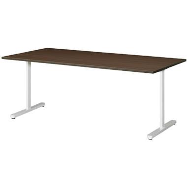 KAT型会議用テーブル 両角タイプ 1800×900mm ウォールナット