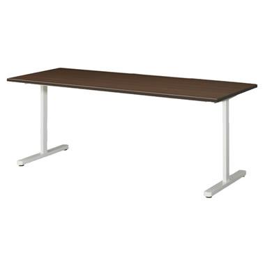 KAT型会議用テーブル 両角タイプ 1800×750mm ウォールナット