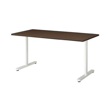 KAT型会議用テーブル 両角タイプ 1500×750mm ウォールナット