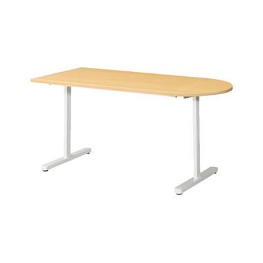 KAT型会議用テーブル 片Rタイプ 1500×750mm ペールアルダー