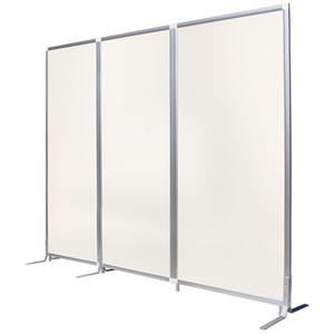 抗アレル壁紙パネル ホワイト 幅900mm 3連セット