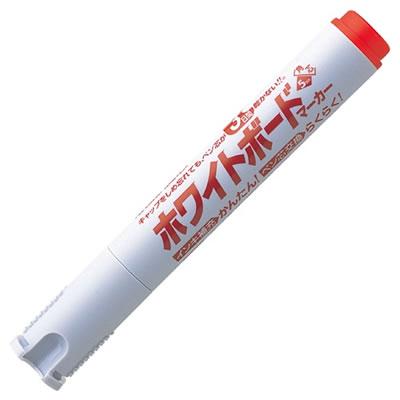 シャチハタ K-529-R アートライン潤芯ホワイトボードマーカー 太字角芯 赤