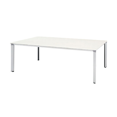 ATS-2110W 会議用テーブル 幅2100 天板:ホワイト