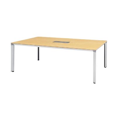 ATS-2110WP 会議用テーブル 幅2100 配線ボックス付 天板:ペールアルダー