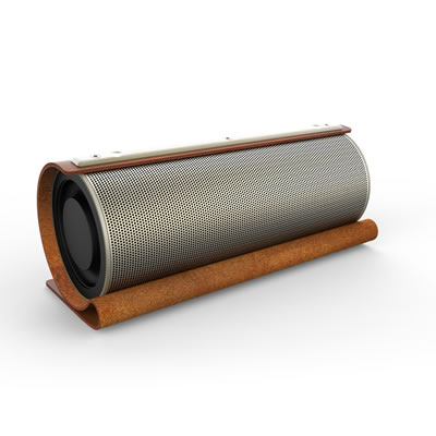 3E 3E-BSP1-MS Bluetooth Speaker 【The Bull】 メタリックシルバー