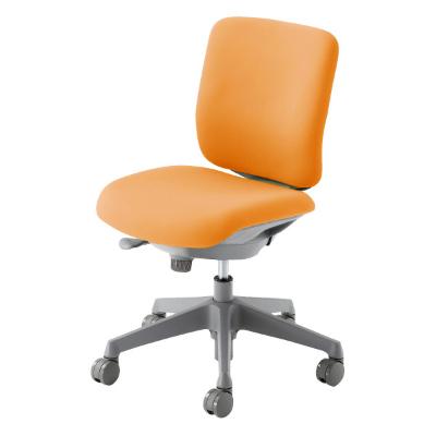 CG-Rチェア グレーシェル ローバック 肘なし オレンジ