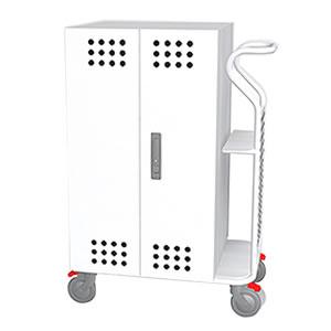 Tablet*Cart SMALL タブレット30台収納キャビネットカート ホワイト