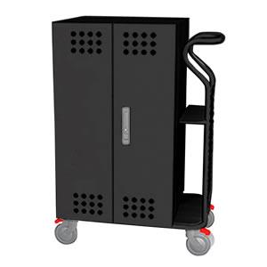 Tablet*Cart SMALL タブレット30台収納キャビネットカート ブラック
