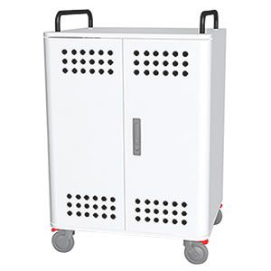 Tablet*Cart FOUR-r ノートパソコン タブレット30台収納キャビネット ホワイト