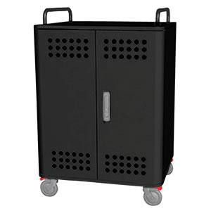 Tablet*Cart FOUR-r ノートパソコン タブレット30台収納キャビネット ブラック