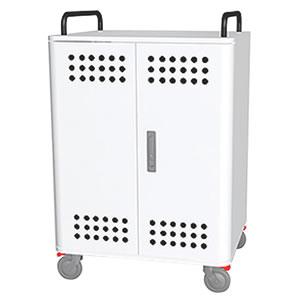 Tablet*Cart FOUR-r ノートパソコン タブレット40台収納キャビネット ホワイト
