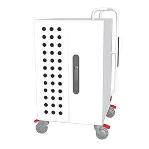 Tablet*Cart NOTE ノートパソコン20台収納キャビネット ホワイト